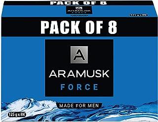 Aramusk Force Soap, 125g(Pack of 8)
