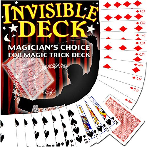 Magic Makers Invisible Deck Trick, Red or Blue