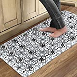 QSY Home Kitchen Anti Fatigue Floor Comfort Mats 20x39x3/4-Inch Non Skid Thick Cushioned...