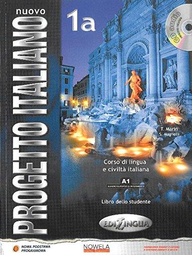 Nuovo Progetto Italiano 1A podrecznik + CD wersja wieloletnia