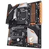 Gigabyte H370AORUS Gaming 3 - Placa base (Intel H370, S 1151, DDR4, SATA3, Dual M.2, 2-Way CrossFire), color negro