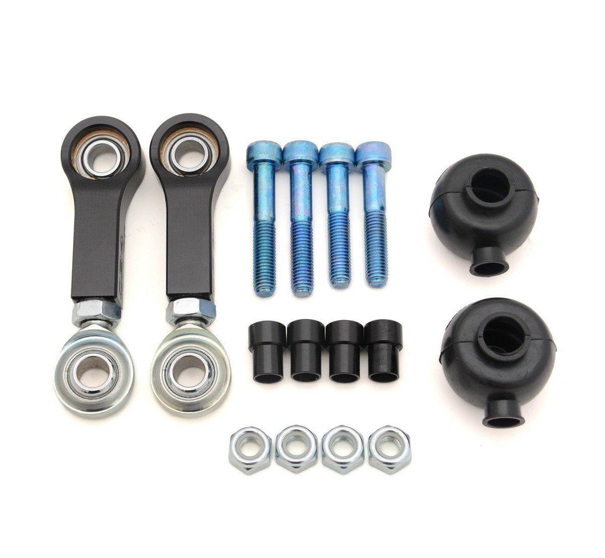 034Motorsport 034-402-4001 - Eslabones de barra de escalera, para motocicleta, trasero, ajustable, 8P y 8JAudiTT/A3, MKV y MKVI Volkswagen Jetta GTI R32: Amazon.es: Coche y moto