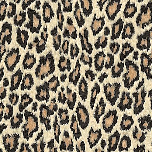 Venilia Klebefolie Bengal roux Motiv, Dekofolie Leopard, Animal Print Möbelfolie, Leo-Style,Tapete, selbstklebende Folie, PVC, ohne Phthalate, 45cm x 1,5m, Stärke 0,095mm, 54703