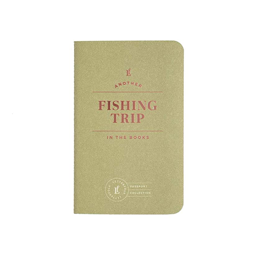 Fishing Trip Passport – Pocket-Sized Fishing Book by Letterfolk