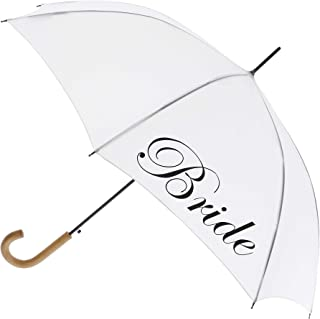 bride and groom umbrella