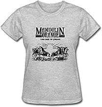 SJFKLSG Womens Mandolin Orange Such Jubilee T Shirts 100% Cotton