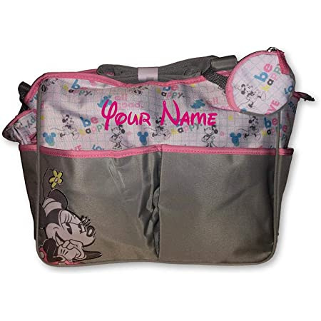 Personalised Minnie Mouse Pink Nappy Wallet