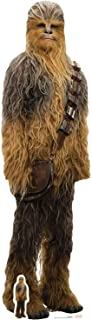 Star Cutouts Ltd Official Cutouts Star Wars The Last Lifesize Cardboard Cut out Cartón de Corte Oficial, Chewbacca Jedi, 1...