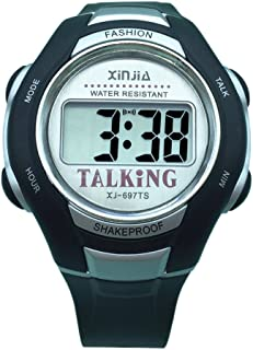 Spanish Language Unisex Talking Watch for The Blind and Elderly