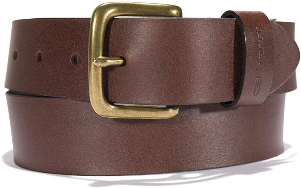 Carhartt Men's A0005509 Journeyman Belt - 38 - Carhartt Brown