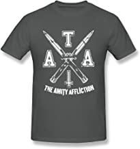 ToWi Men The Amity Affliction LOGO T-shirts DeepHeather XXL