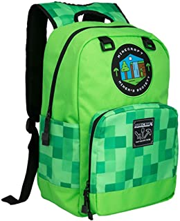 J!nx Minecraft Backpack Miner's Society Bags