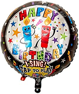 "Anagram International 1421201 Happy Birthday Candles S-A-T Balloon, 28"" (B0018A4KIE) 