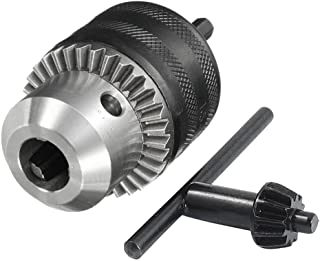 Bestgle 1.5-13mm Capacity Drill Chuck 1/2-20UNF Mount Impact Driver Bits Chuck Conversion 1/4