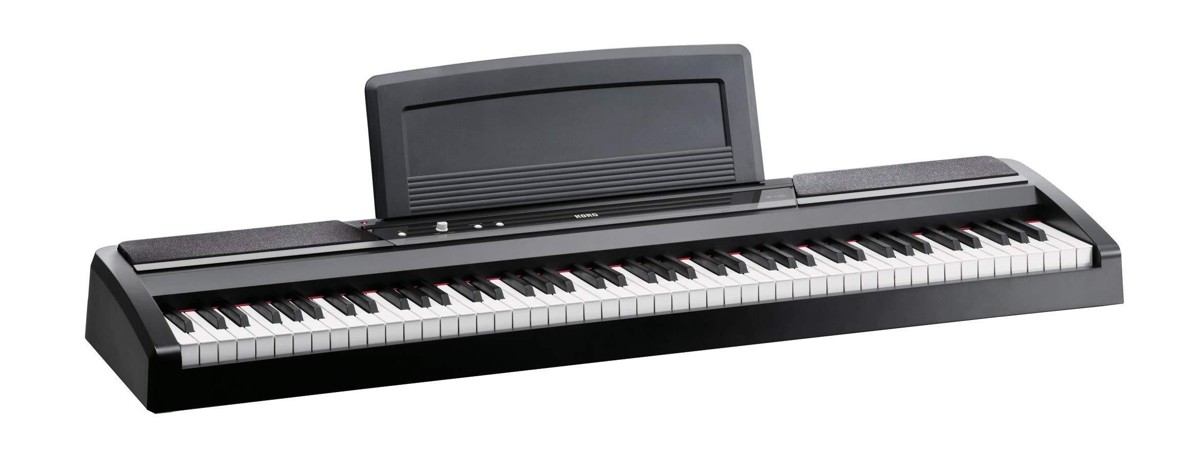 Korg 88 Key Digital Pianos SP170SBK2