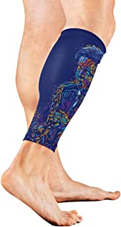 Musical Notes Vibes From Saxophone Calf Compression Sleeve Leg Compression Socks For Shin Splint Calf Pain Relief Men Women And Runners Improves Circulation Recovery