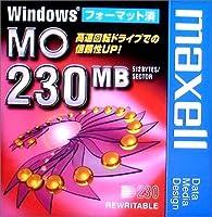 maxell データ用 3.5型MO 230MB Windowsフォーマット MA-M230.WIN.B1P