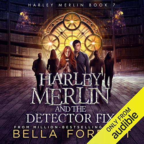 Page de couverture de Harley Merlin and the Detector Fix