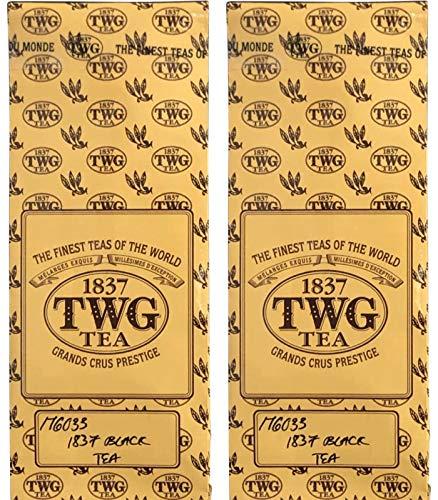 シンガポールの高級紅茶TWG1837 Black Tea「ブラックティー」×2バルクバック [並行輸入品]