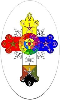 cross = x bumper sticker meaning