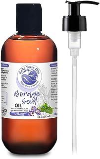 NEW Borage Seed Oil. 8oz. Cold-pressed. Unrefined. Organic. 100% Pure. PA-free. Hexane-free. GLA Oil. Natur...