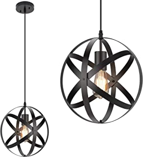 Best black hexagon pendant light Reviews
