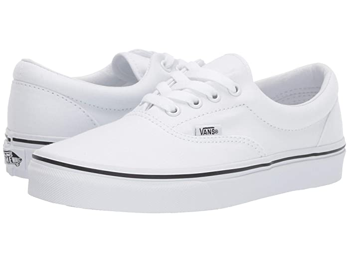 Mens Retro Shoes | Vintage Shoes & Boots Vans Eratm Core Classics True White Shoes $49.95 AT vintagedancer.com