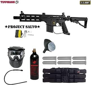 Maddog Tippmann Project Salvo Sierra One Titanium Paintball Gun Package