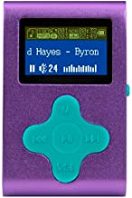 $23 » Eclipse Fit Clip 4GB MP3 Player - Purple/Teal
