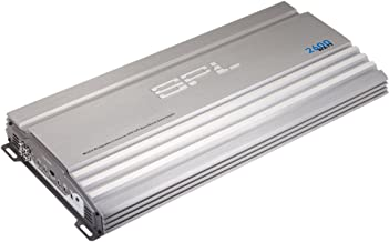 Precision Power SPL 2 Channel Car Amplifier Class A//B Multichannel Amplifier 1500 Watt Car Electronics Audio Subwoofer 2 Ohm Stable Bass Boost Crossover MOSFET Power Supply for Car Speakers Sub Amp