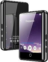 """MP3 Player, Bluetooth 5.0 Mp3 Player 2.4"""" LCD Touchscreen Vollmetallkörper 16G.."""