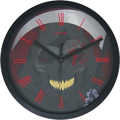 JustNile Halloween Non-Ticking Quiet Wall Clock - 10