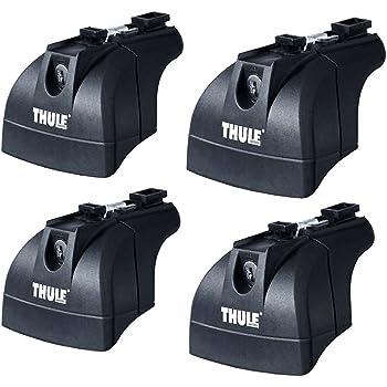 Thule 753 - 4 Piedi per barre portatutto: Amazon.it: Sport e tempo