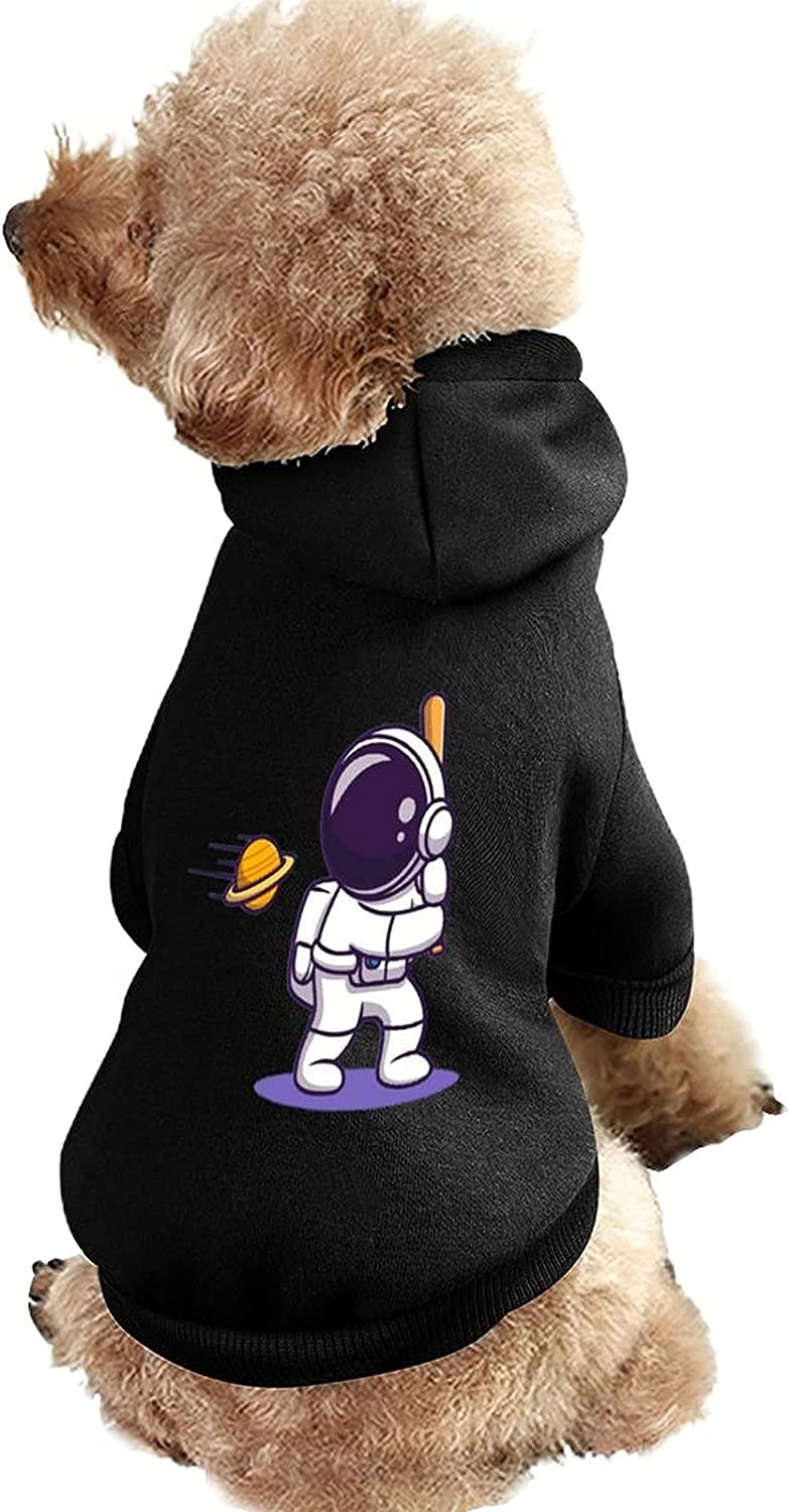 Hoodie Dog Portland Mall Clothes Sweaters with Ranking TOP10 Cute Playing Soft Hat Astronaut