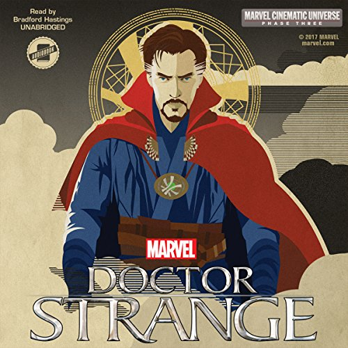 Marvel's Doctor Strange audiobook cover art