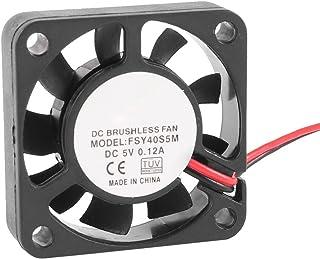 SODIAL(R) 40mm x 10mm 0.12A 2Pin 5V DC Sin Escobillas Manga Rodamiento Ventilador de Refrigeracion