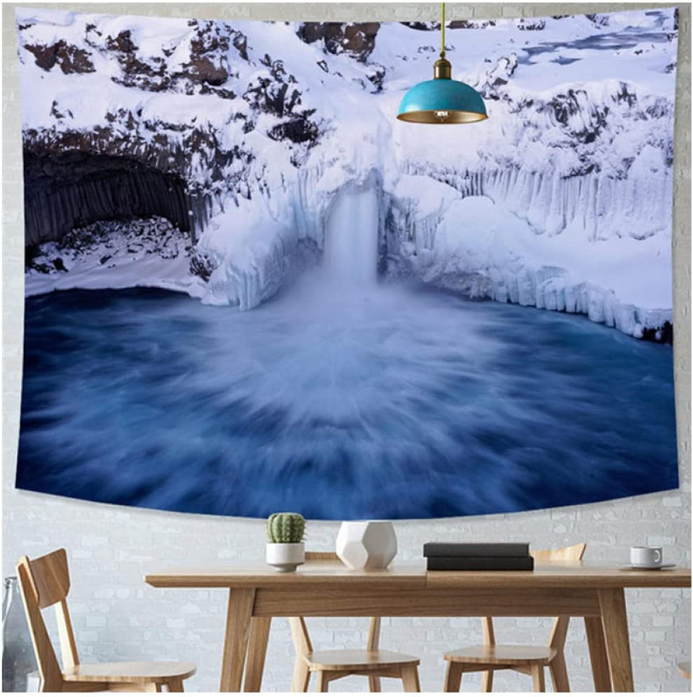 Tapestry by BD-Boombdl Snow Las Vegas Mall Scene Fashionable Wall Decorative Background Art