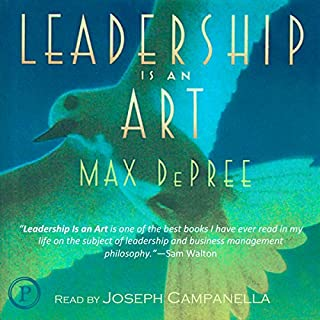 Leadership Is an Art cover art