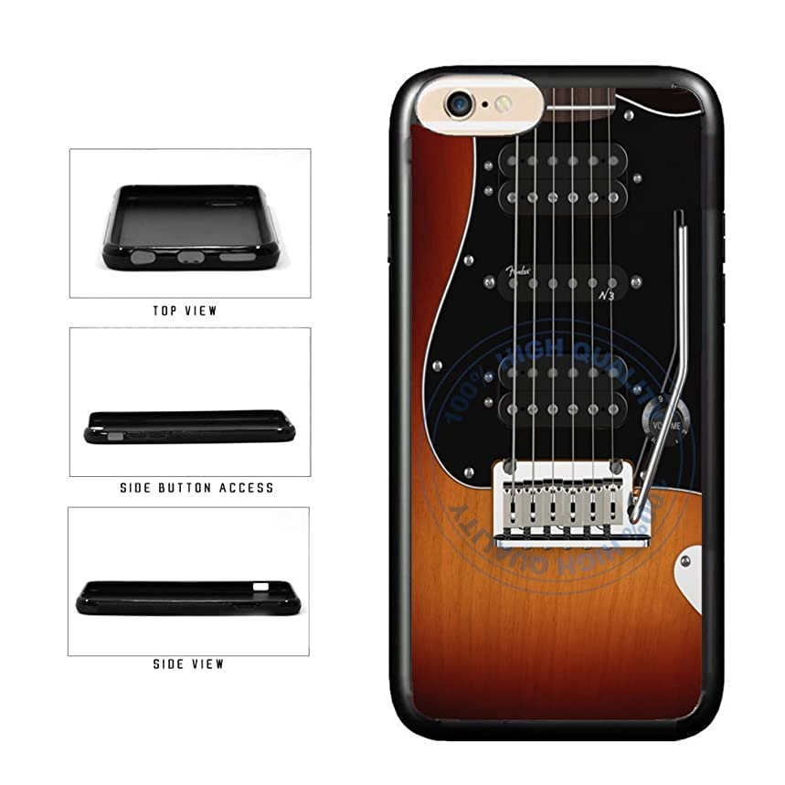BleuReign(TM) Detailed Guitar Strings TPU RUBBER SILICONE Phone Case Back Cover For Apple iPhone 6 Plus and iPhone 6s Plus (5.5 Inches Screen)