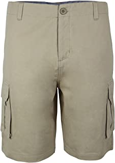 Men's Classic Fit Cargo Shorts Casual Lightweight Twill Quick Dry Pants
