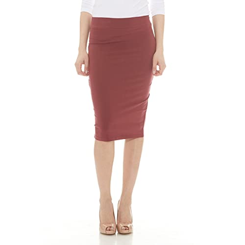 649c34306167 Esteez Women's Pencil Skirt - Knee Length - Modest - Lightweight