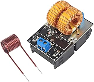 D DOLITY ZVS Driver Module, 5V-12V ZVS Induction Heater Power Supply Board+Heating Coil Supply