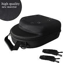 GALEXBIT Baseball Hat case Cap Carrier Case Holder for 6 Caps Hat Bag for Travel