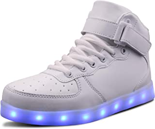 LED Light Up Shoes USB Flashing Sneakers for Toddler/Kids Boots