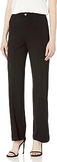 Lyssé womens Jackie Ponte Wide Leg Pant Dress Pants