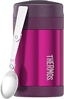 Thermos Stainless Steel Vacuum Insulated Food Jar, 470ml, Pink, TS3015PK4AUS