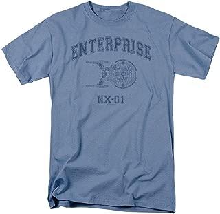Star Trek: Enterprise NX-01 Athletic T Shirt & Stickers