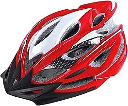 <h2>WPCBAA Freizeithelm Fahrrad Reithelm Integriertes Formteil 22 Belüftungsloch Reitausrüstung Fahrrad Mountainbike Rennrad Helm Hut</h2>