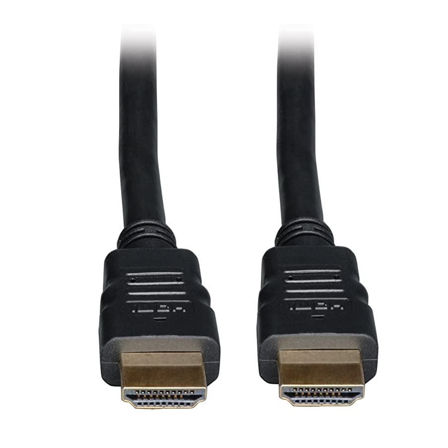 Tripp Lite High Speed HDMI Cable with Ethernet, Ultra HD 4K x 2K, Digital Video with Audio (M/M), 6-ft. (P569-006)