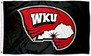 College Flags and Banners Co. Western Kentucky Hilltoppers Black Flag Large 3x5